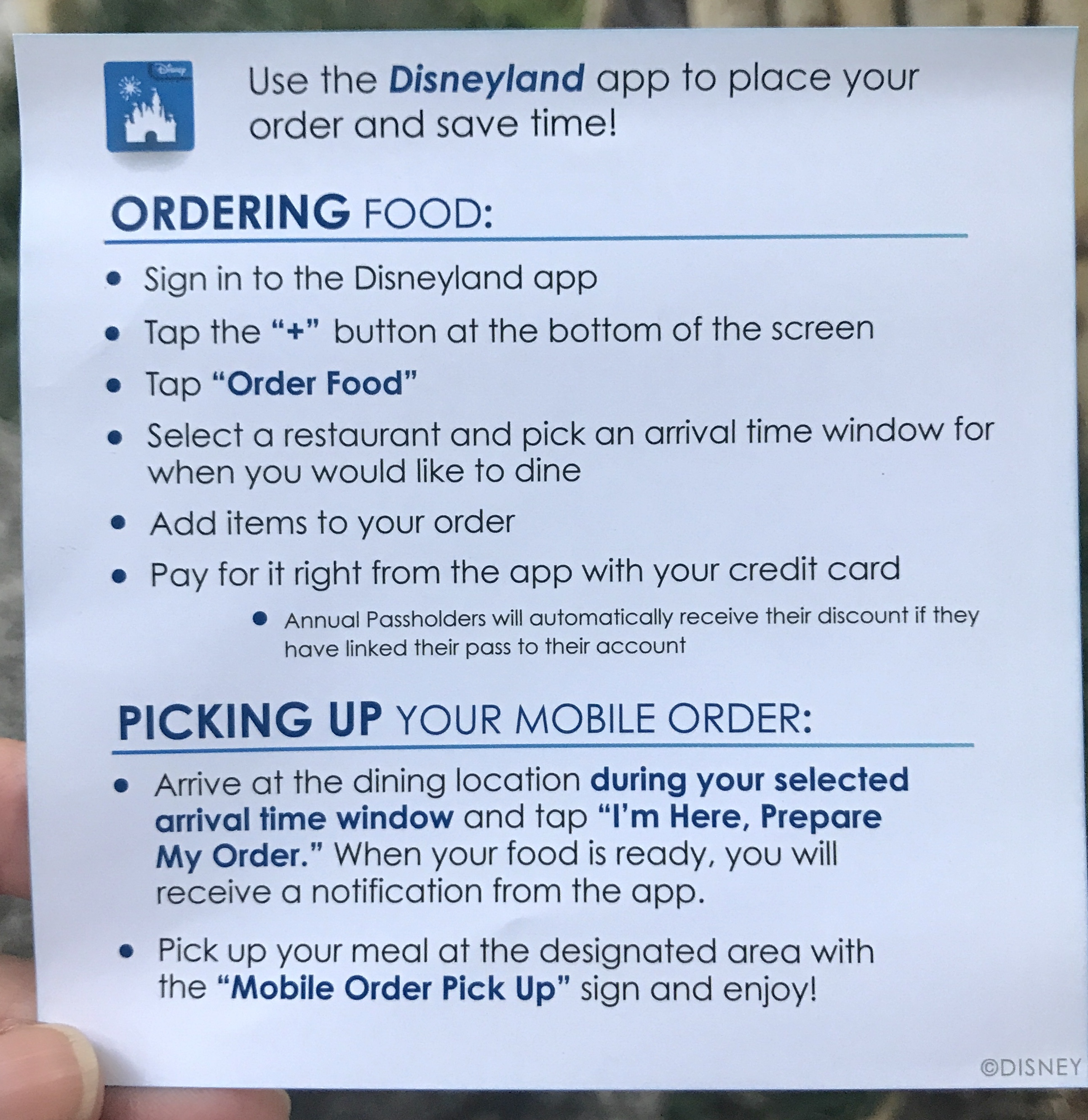 Order Ahead and Save time? (My Mobile Food Ordering Mishap)